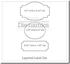 layered label Die-namics