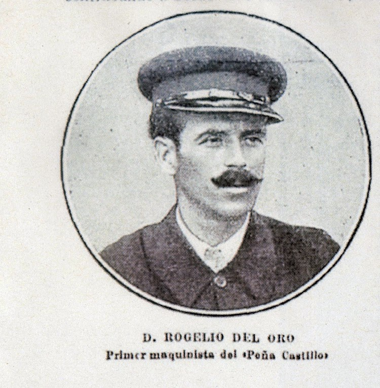 D. Rogelio del Oro. 1º Maquinista. Revista Nuevo Mundo. 27 de agosto de 1915.jpg