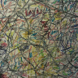 Gordon Fraser, Drawing, graphite and crayon 08/28/2011