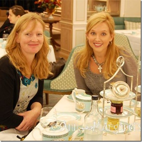 Ann-Margeret and Claire Fortnum & Mason