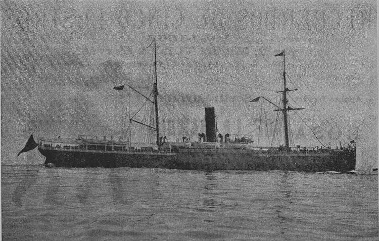 Vapor SANTO DOMINGO. Foto de la revista LA ESQUELLA DE LA TORRATXA. 31 de enero de 1896.bmp