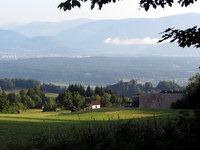 Pogled na ruševine gradu Finkenstein