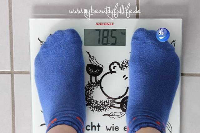 Gewicht nach Woche 1