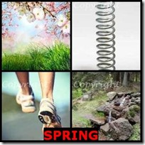 SPRING- 4 Pics 1 Word Answers 3 Letters