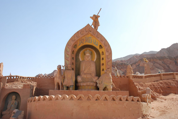 Flaming mountains - site journey to the west 2