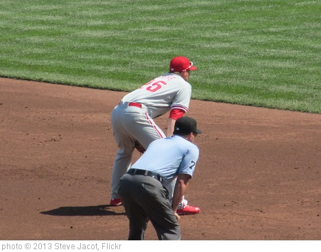 'Cody Asche settles in at third' photo (c) 2013, Steve Jacot - license: http://creativecommons.org/licenses/by/2.0/