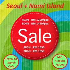 Red Sale Poster With Color Line