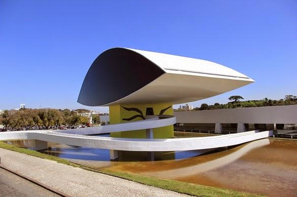 Museu Oscar Niemeyer - Oscar Niemeyer, Curitiba