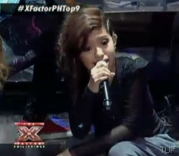 Allen Jane Sta. Maria sings Waterfalls - The X Factor Philippines