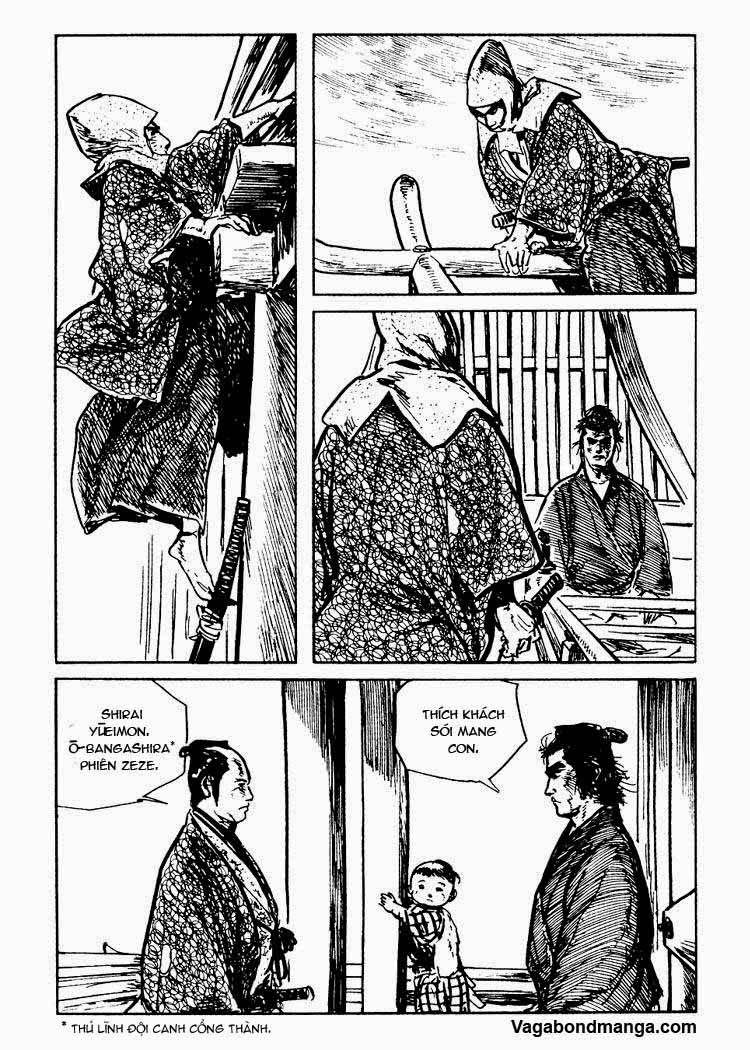 Sói mang con - Lone Wolf and Cub Chap 80