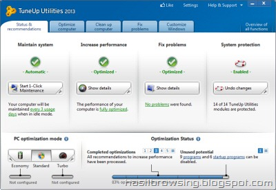 tuneup utilities 2013 screenshot