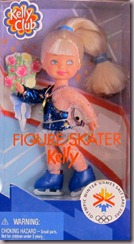 Barbie Kelly Olympic Winter Games Salt Lake Skater (2002)