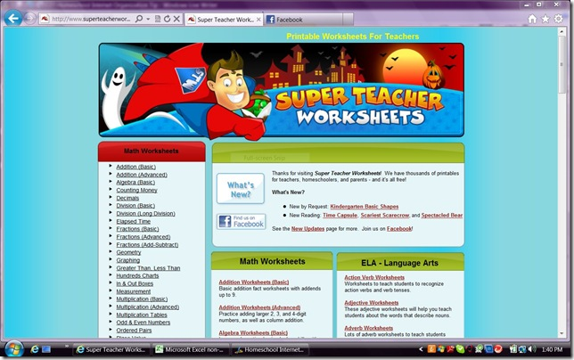 superteacherworksheets