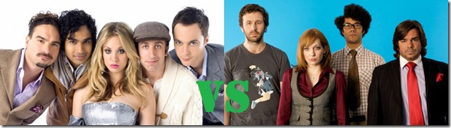 The Big Bang Theory vs The IT Crowd - Daruma.View Cinema