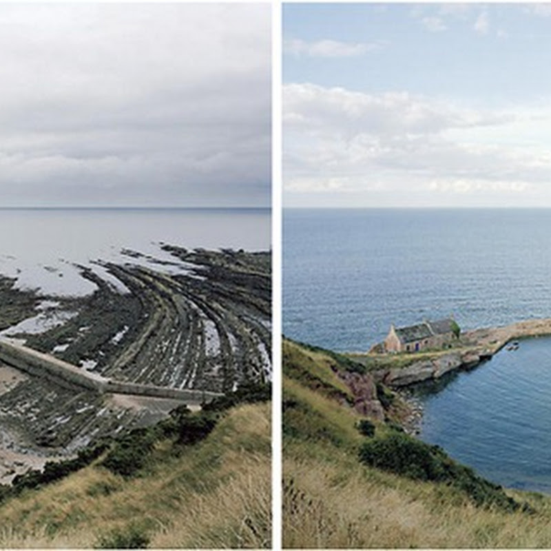 Michael Marten's Dramatic Pictures of Low and High Tides
