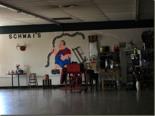 Schwai's mural