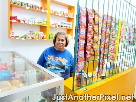 My mom at her sari-sari store - JustAnotherPixel.net