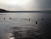 lake swim