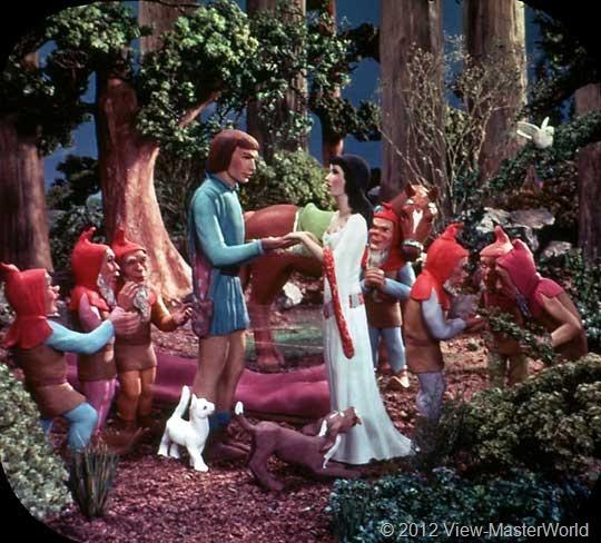 View-Master Snow White and the Seven Dwarfs (B300), Scene 20