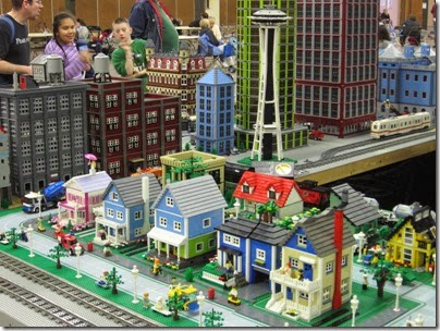 IMG_0176 Greater Portland Lego Railroaders Layout at the Great Train Expo in Portland, Oregon on February 16, 2008