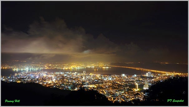 Penang Hill Night View