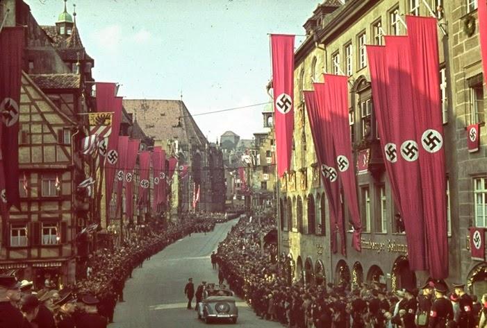 Nuremberg, 1938.