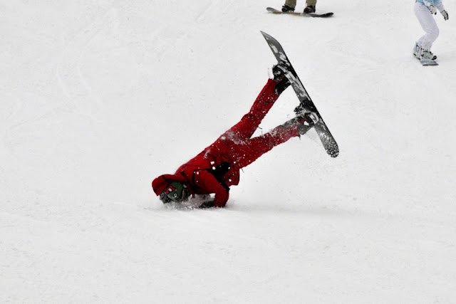 Jan/Feb 2011 - 3rd Place / Snowboarding 101: &quot;Things not to do&quot; / Credit: Lana Kolbert