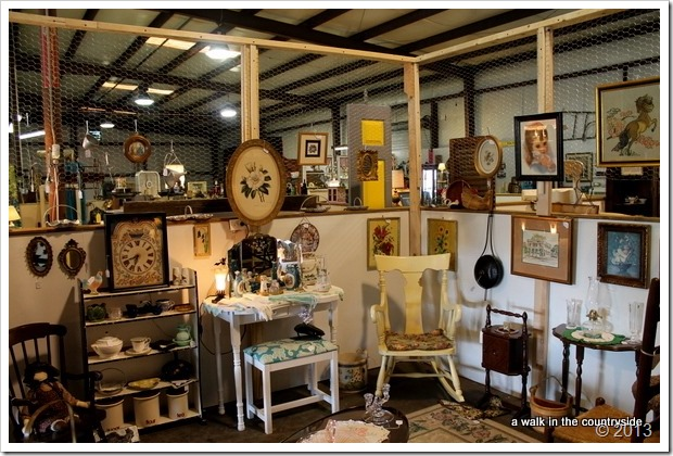 ideas for displaying antique booth