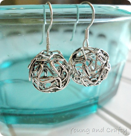 Ball earrings 2