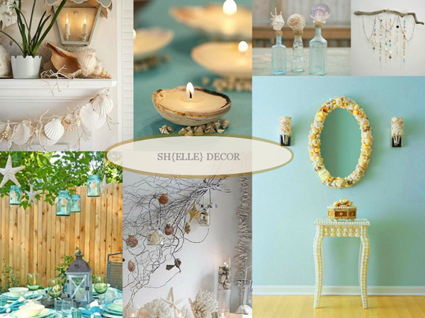 Shells Sh{elle} decor via homework