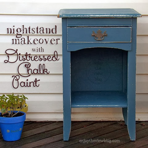makeover with chalk paint