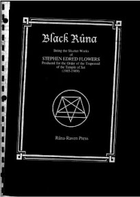 Cover of Stephen Flowers's Book Black Runa