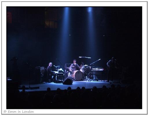 Mick Harvey Jean-Marc Butty John Parish supporting PJ Harvey at Royal Albert Hall