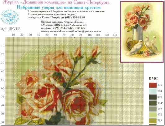 gráfico de pomba e flores