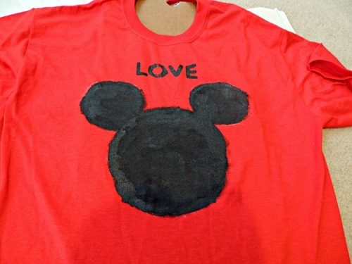 Totally Tulip Fabric Paint T-Shirts - Mickey