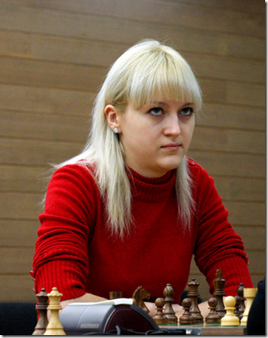 Anna Ushenina, Ukraine, the new Women's World Champion 2012