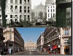 Perspective de l'avenue de l'Opéra