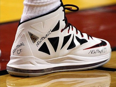 lebron james nba 121215 mia at was 01 King James Pays Tribute to Newtown Victims & Families