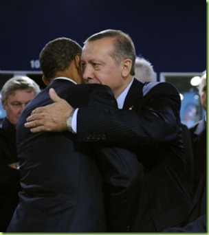 huggs for islamist turkish prez