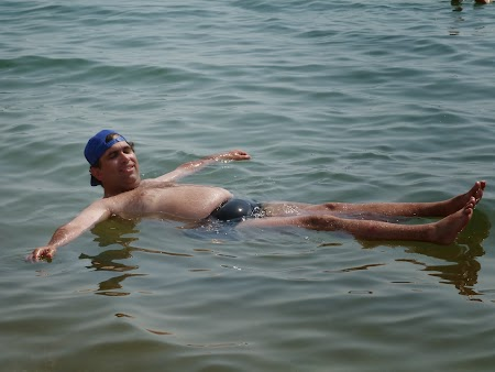 Obiective turistice Iordania: Plutind pe Marea Moarta