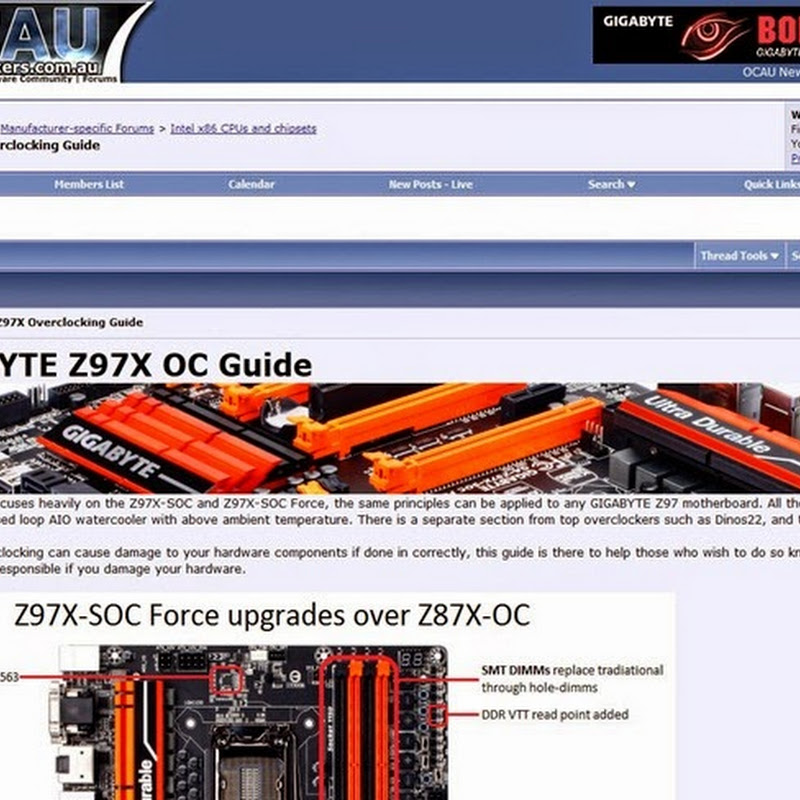 GIGABYTE Z97 overclocking guide by sin0822