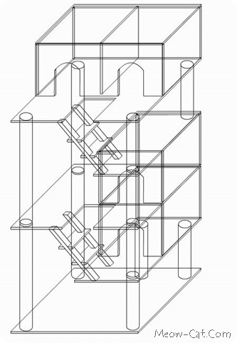 cat tree plan 1