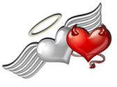hjärt tatuering
