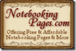 Notebooking Pages logo