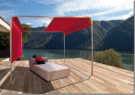 multiscreen system outdoor by April Alterior furniture