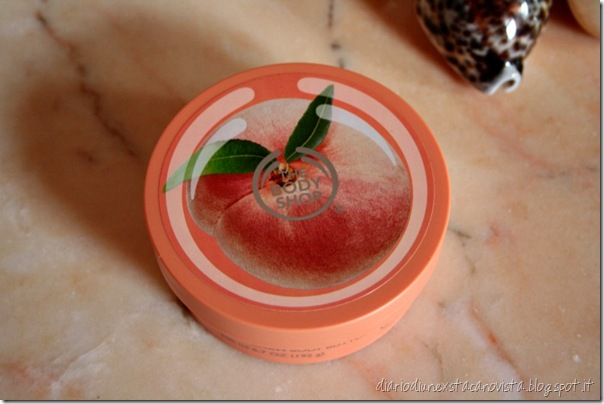 thebodyshop vineyard peach body butter