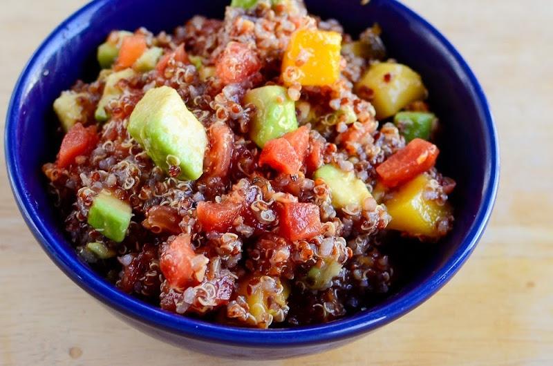 quinoa salad with mango-17807