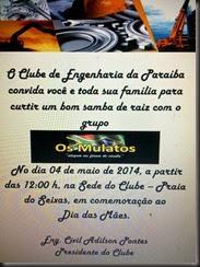 cartaz Clube