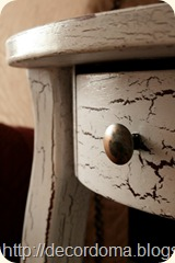Кракелюр декор мебели своими руками