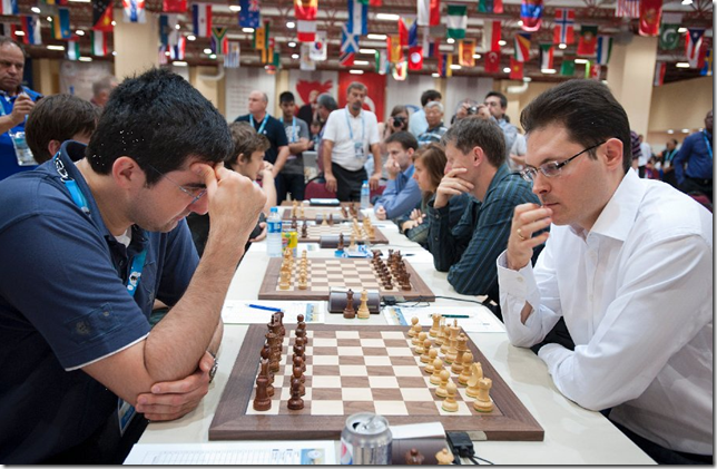 Russia vs Hungary, Round 5, 40th Chess Olympiad 2012, Istanbul, Turkey